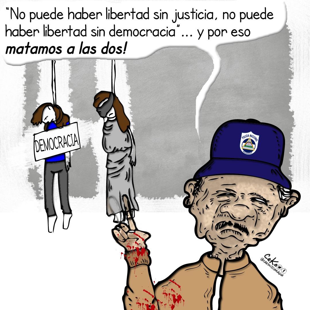 La Caricatura: Colgadas