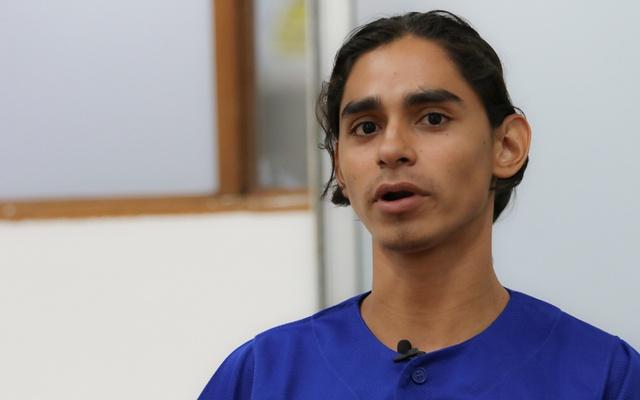 Nahiroby Olivas, fue secuestrado y encarcelado el 25 de agosto de 2018