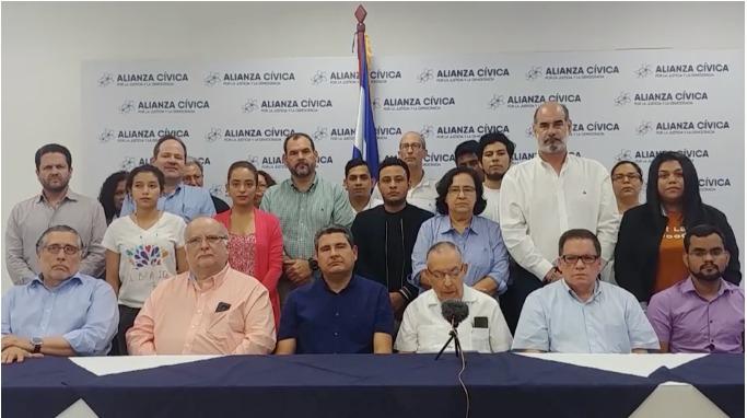 """Alianza Cívica: """"No tenemos nada que ocultar"""""""