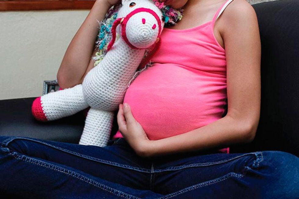 En Nicaragua la maternidad tiene rostro de niña impuesta por abusos sexuales. Foto: Tomada de internet
