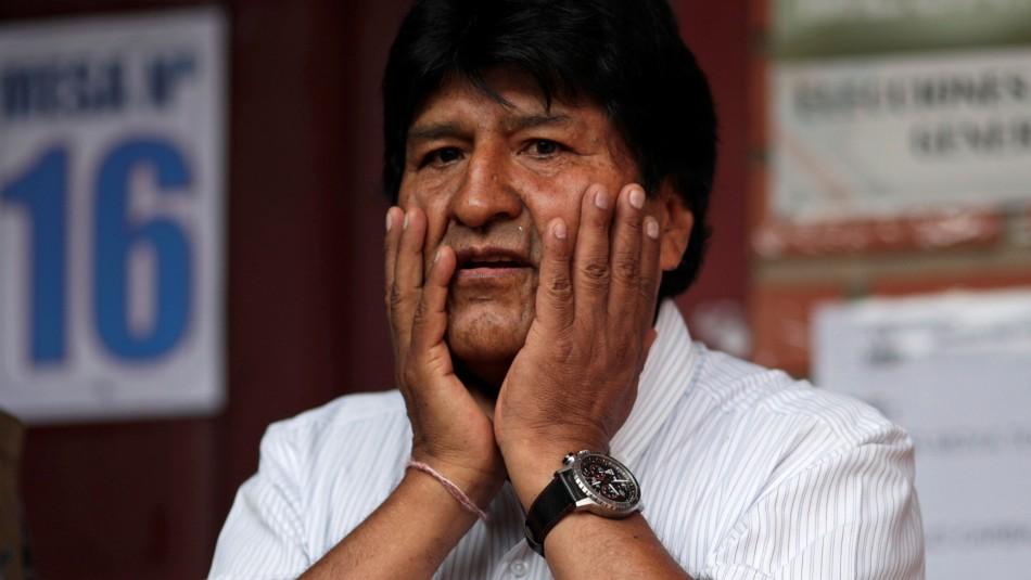 Evo Morales convoca a partidos políticos a instalar un diálogo tras protestas desatadas en Bolivia. Foto: Tomada de internet
