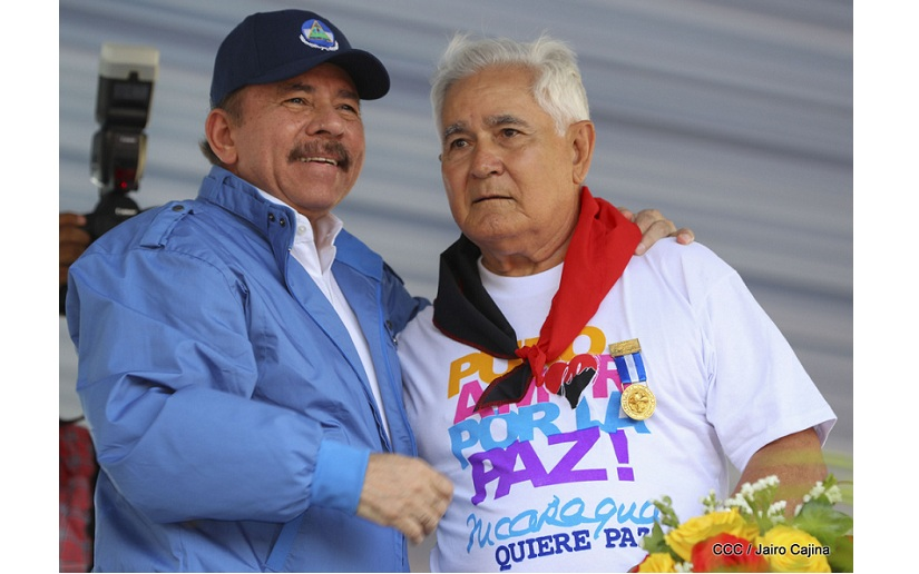 Edén Pastora murió sin encontrar el reemplazo de Daniel Ortega