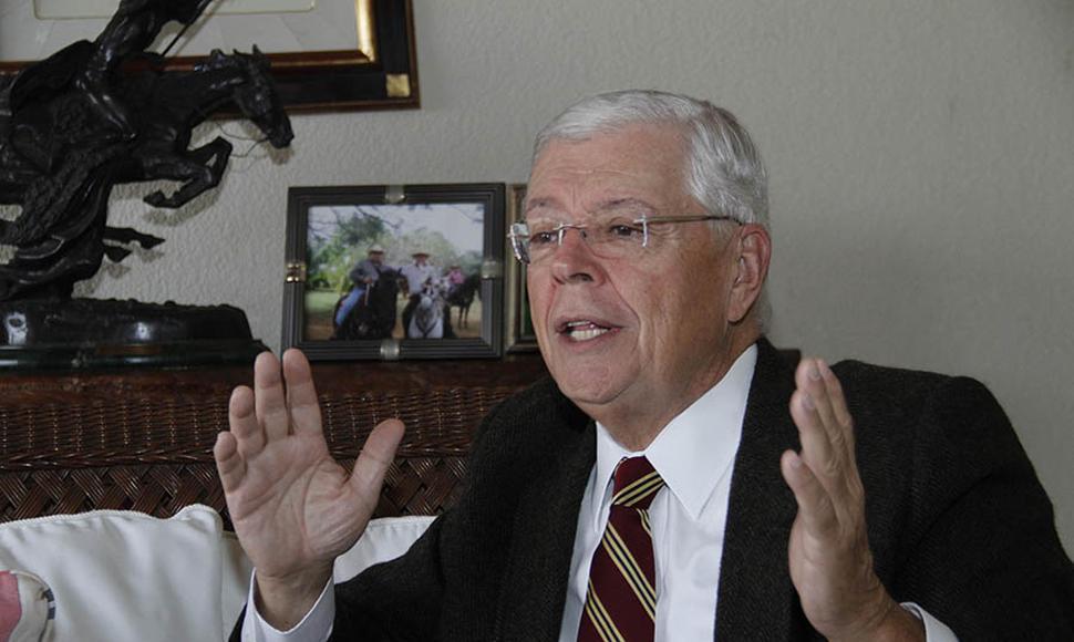 Excanciller de Nicaragua Francisco Aguirre Sacasa. Foto: Cortesía