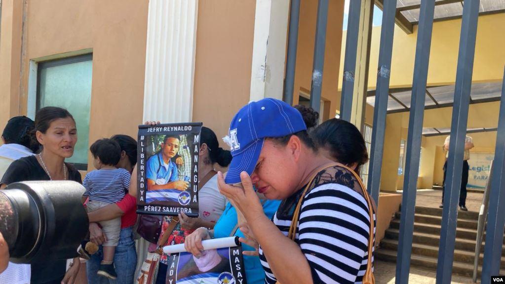 Aplanadora orteguista rechaza propuesta de ley que permite liberar a los presos políticos. Foto: Cortesía/VOA