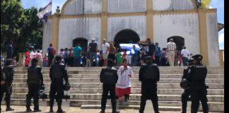 Iglesia católica de Catarina denuncia y condena asedio policial y de turbas orteguistas a celebraciones religiosas