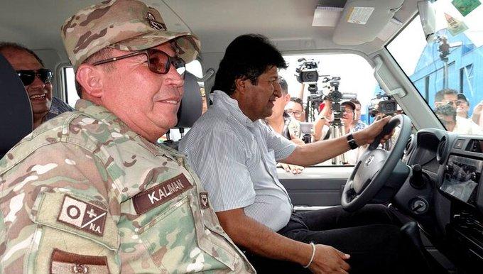 Fuerzas armadas exige la renuncia a Evo Morales para pacificar el país