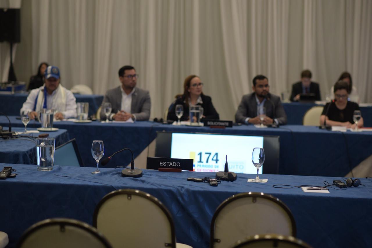 CIDH lamentó la ausencia del Estado de Nicaragua ante la audiencia pública sobre la Ley de Amnistía