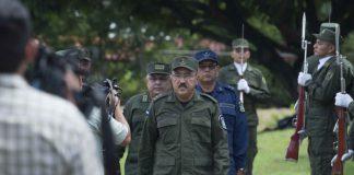 """Marvin Corrales repite el discurso del régimen de Ortega ante el renombramiento de Avilés: """"forma unánime del Consejo Militar"""". Foto: La Prensa"""