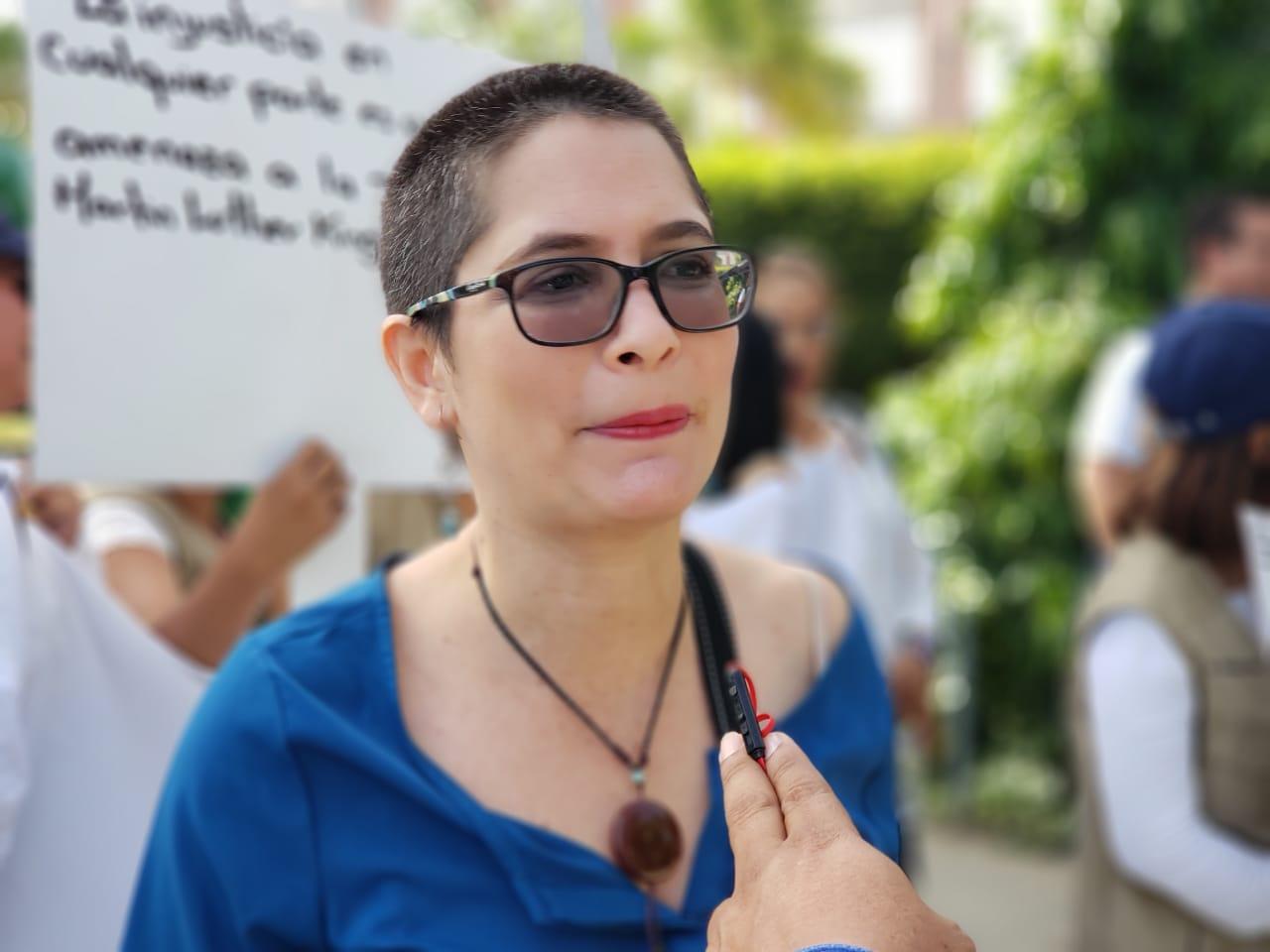 Ana Margarita Vijil, opositora y miembro del Movimiento Renovador Sandinista. Foto: Geovanny Shiffman/Artículo 66