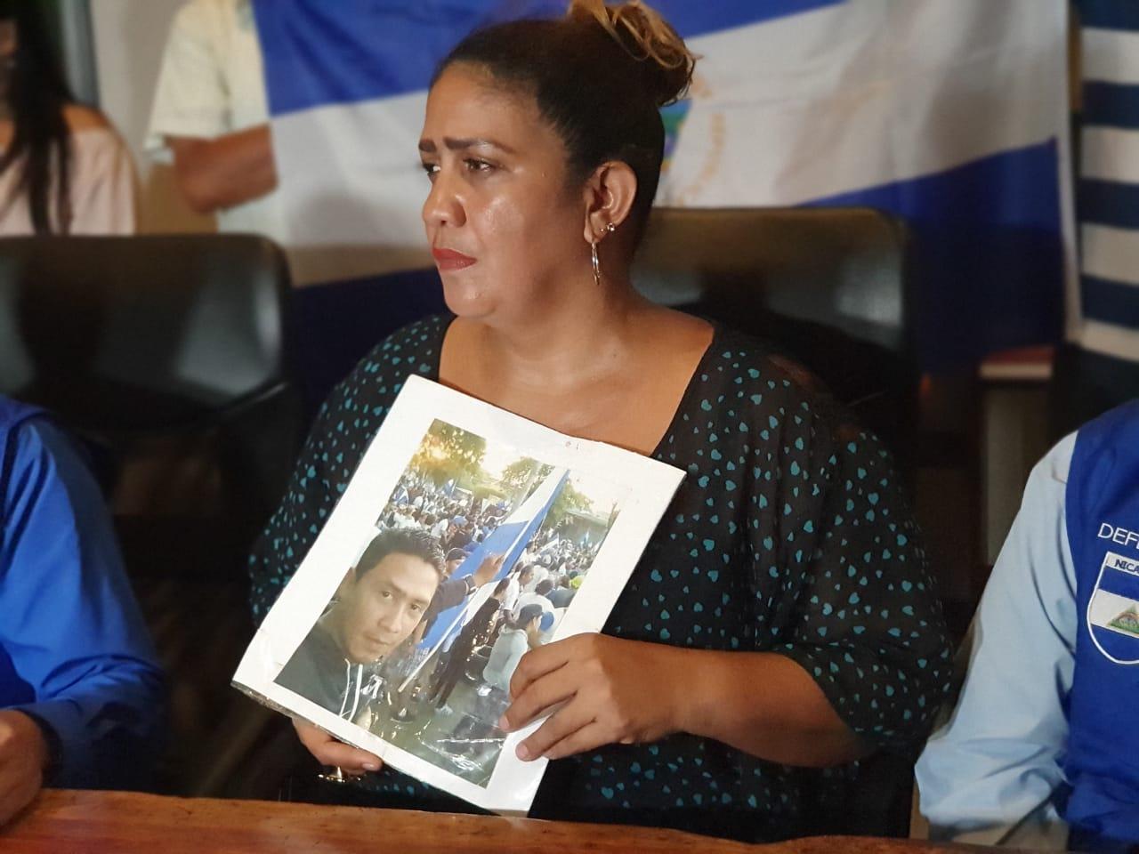 Martha Alvarado, madre del preso político Melkissedex López. Foto: G. Shiffman / Artículo 66