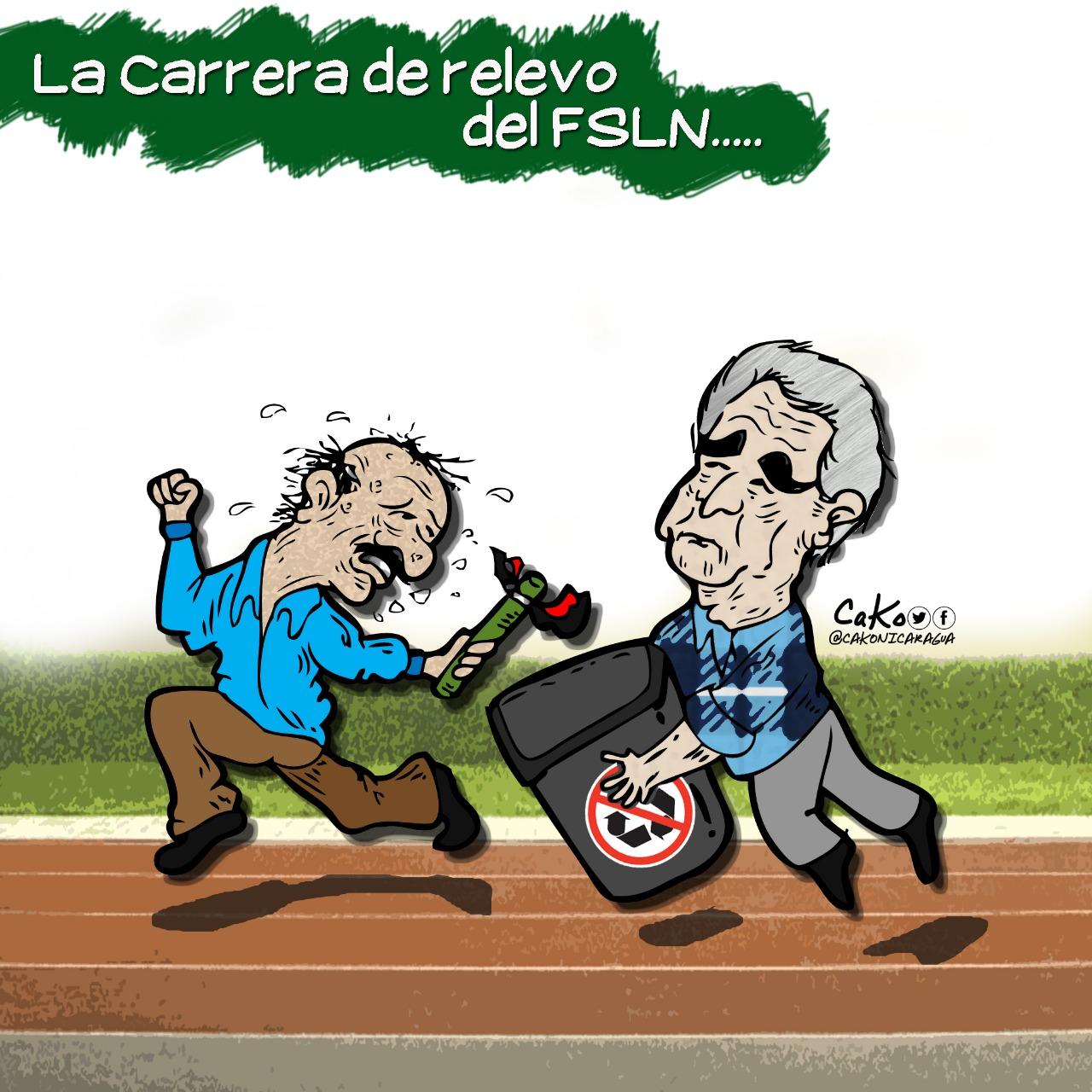 La Caricatura: La carrera de relevo del FSLN