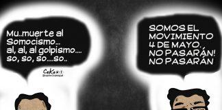 """""""Movimiento 4 de Abril"""" por Juan Carlos Ortega … a Rosario Murillo le salió el tiro por la culata"""