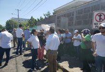Madres de reos políticos fueron agredidas por la Policía en los Juzgados de Managua. Foto: Geovanny Shiffman / Artículo 66