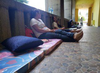 Ocho madres de presos políticos se suman a huelga de hambre desde la Catedral de Managua. Foto: G. Shiffman / Artículo 66