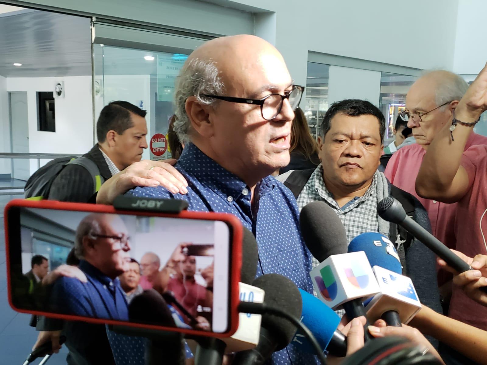 """Carlos Fernando Chamorro: """"los derechos se restablecen ejerciéndolos"""". Foto: G. Shiffman / Artículo 66"""