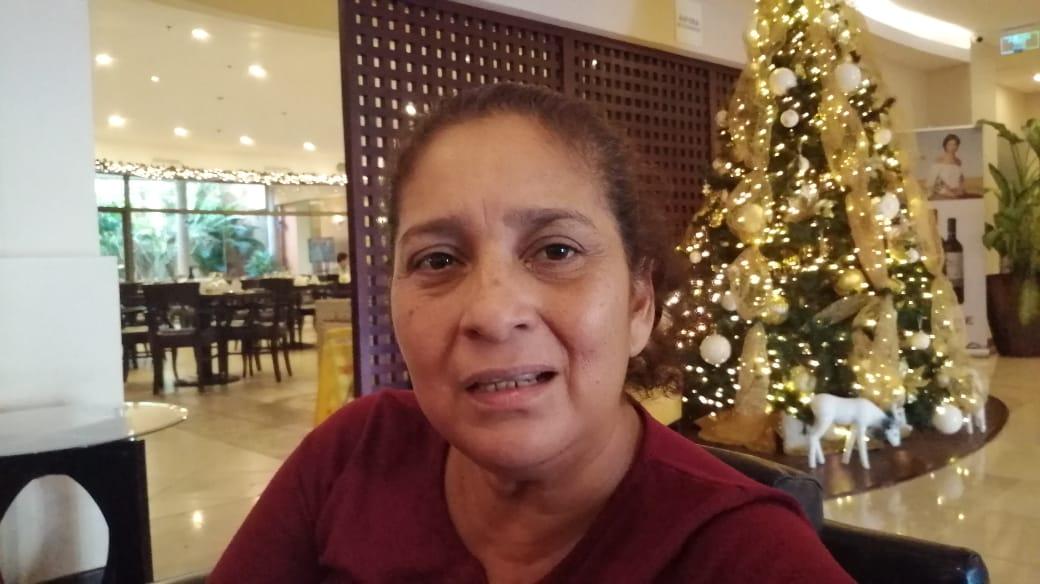 Diana Lacayo, madre del preso político Scannierth Merlo. Foto: Noel Miranda/Artículo 66