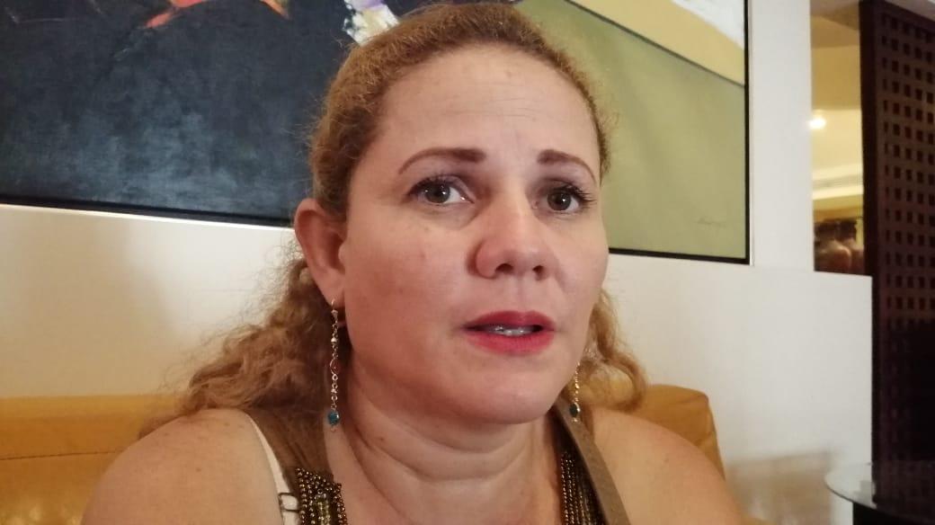 Karen Lacayo, hermana del preso político Edward Lacayo, de Masaya. Foto: Noel Miranda/Artículo 66