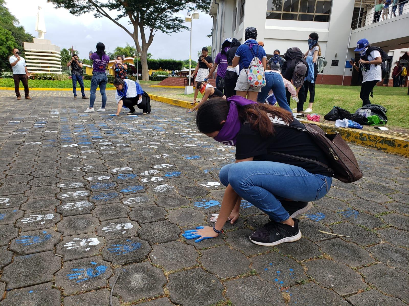 Señalaron que significa que los estudiantes siguen en resistencia para demandar justicia y libertad para Nicaragua. Foto: G. Shiffman / Artículo 66