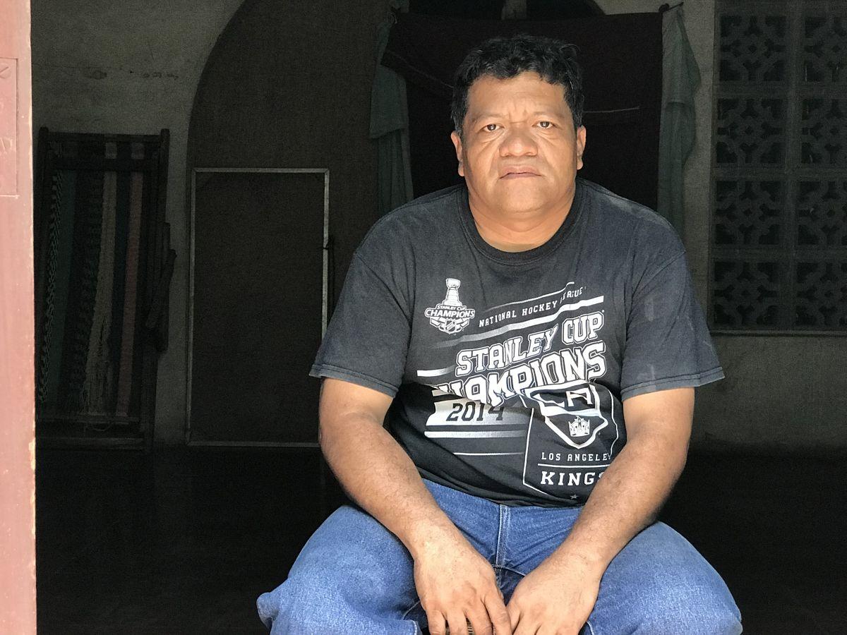 Profesor Álvaro Gómez regresó a Nicaragua después de 15 meses de exilio en Costa Rica. Foto: Wilfredo Miranda/Cortesía