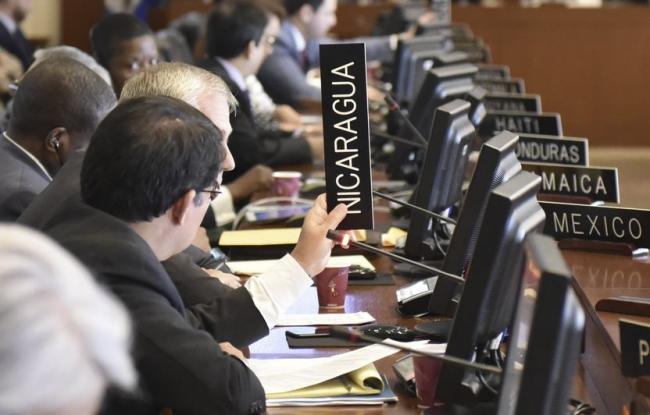 Estados miembros de la OEA respaldan la aplicación de la Carta Democrática Interamericana al régimen de Ortega