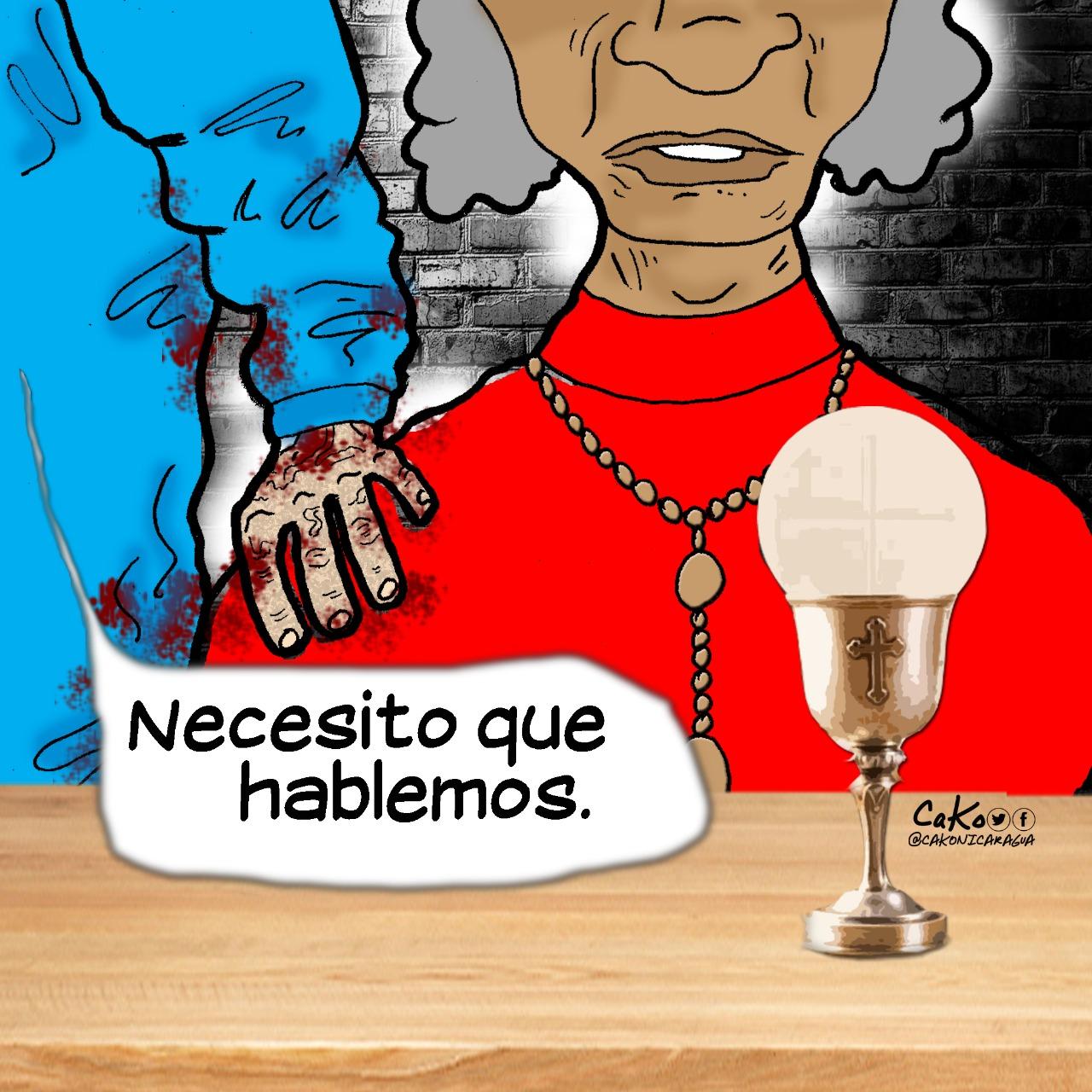 La Caricatura: El dictador necesita hablar con sus aliados