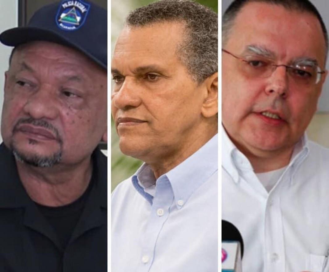 Los tres más recientes sancionados por el Departamento del Tesoro de los Estados Unidos