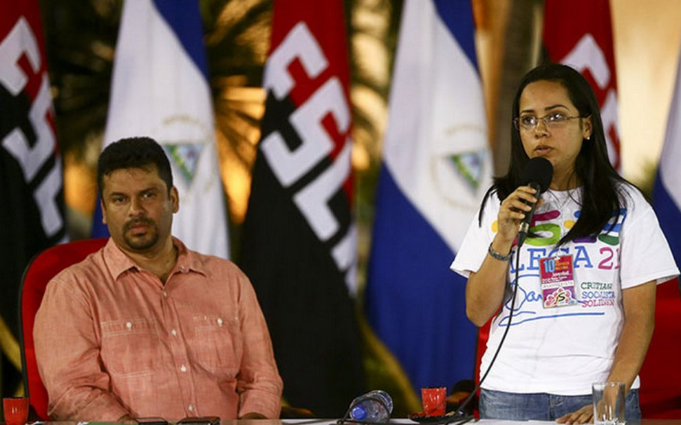 Darling Ríos, dirigente de JS. Foto: Tomada de la web.