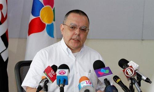 Roberto López, presidente del INSS. Foto: Cortesía