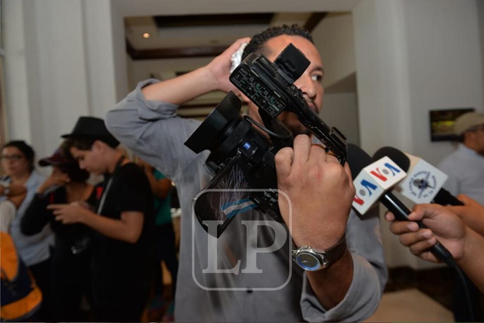 Dictadura intensifica agresión contra periodistas y medios de comunicación independientes. Foto: Óscar Navarrete/La Prensa