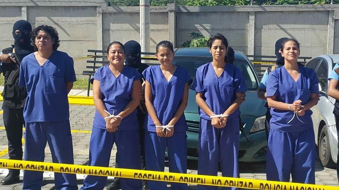 Justicia orteguista remite a juicio a la banda de «Los Aguadores». Foto: Cortesía