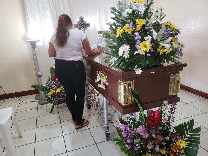 Julio César Sandino, uno de los civiles asesinados junto a