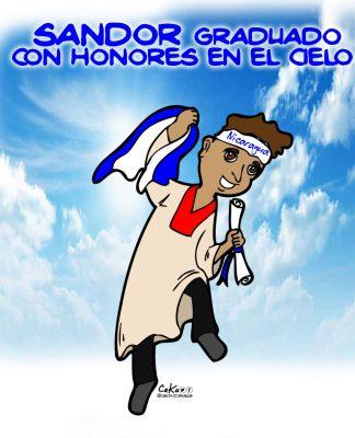"""La Caricatura: """"El niño monaguillo"""" graduado con honores"""