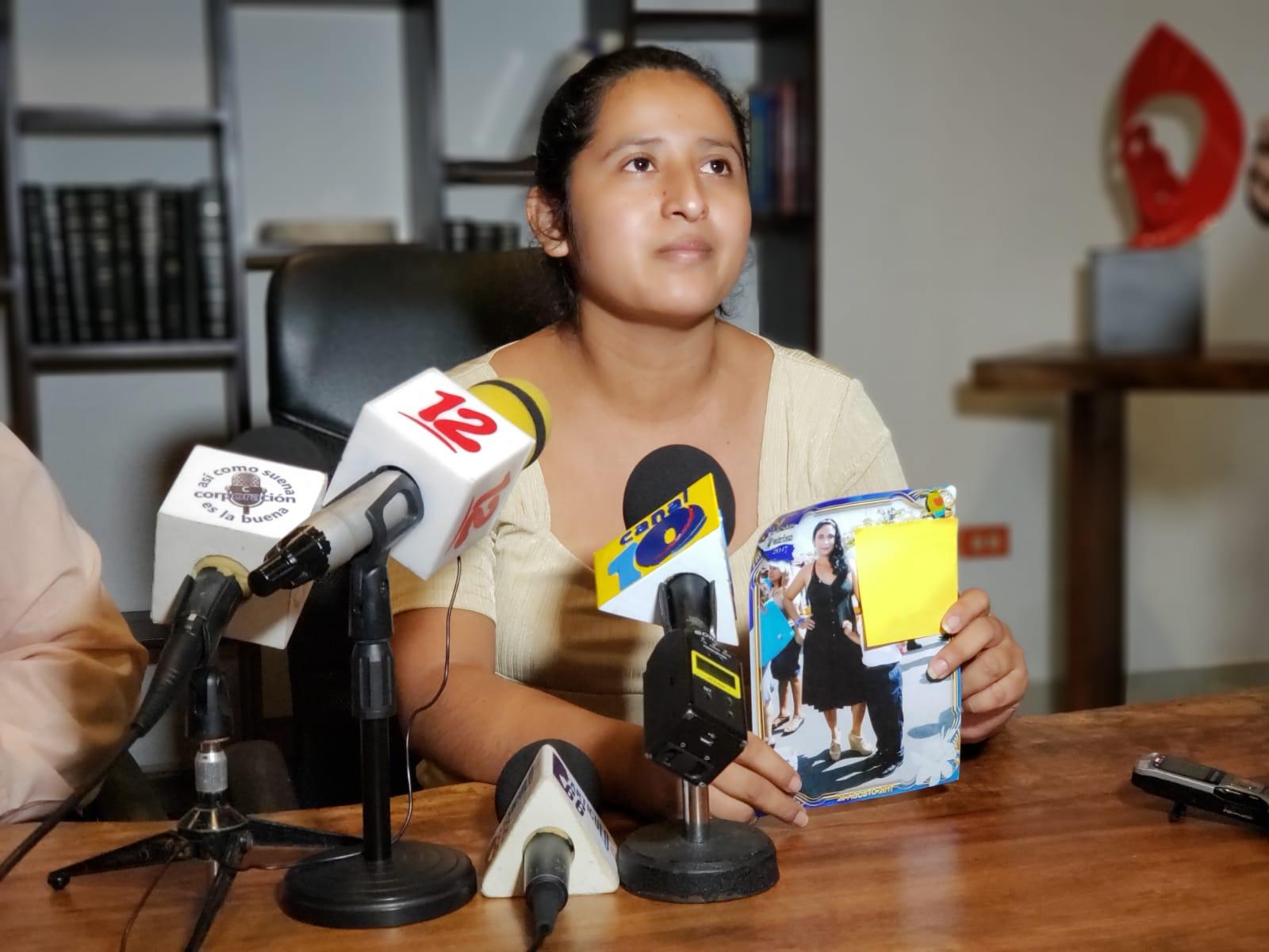 """Eloina Hernández, sobrina de la detenida denunció que """"fueron paramilitares y policías quienes secuestraron a su tía"""". Foto: G. Shiffman / Artículo 66"""