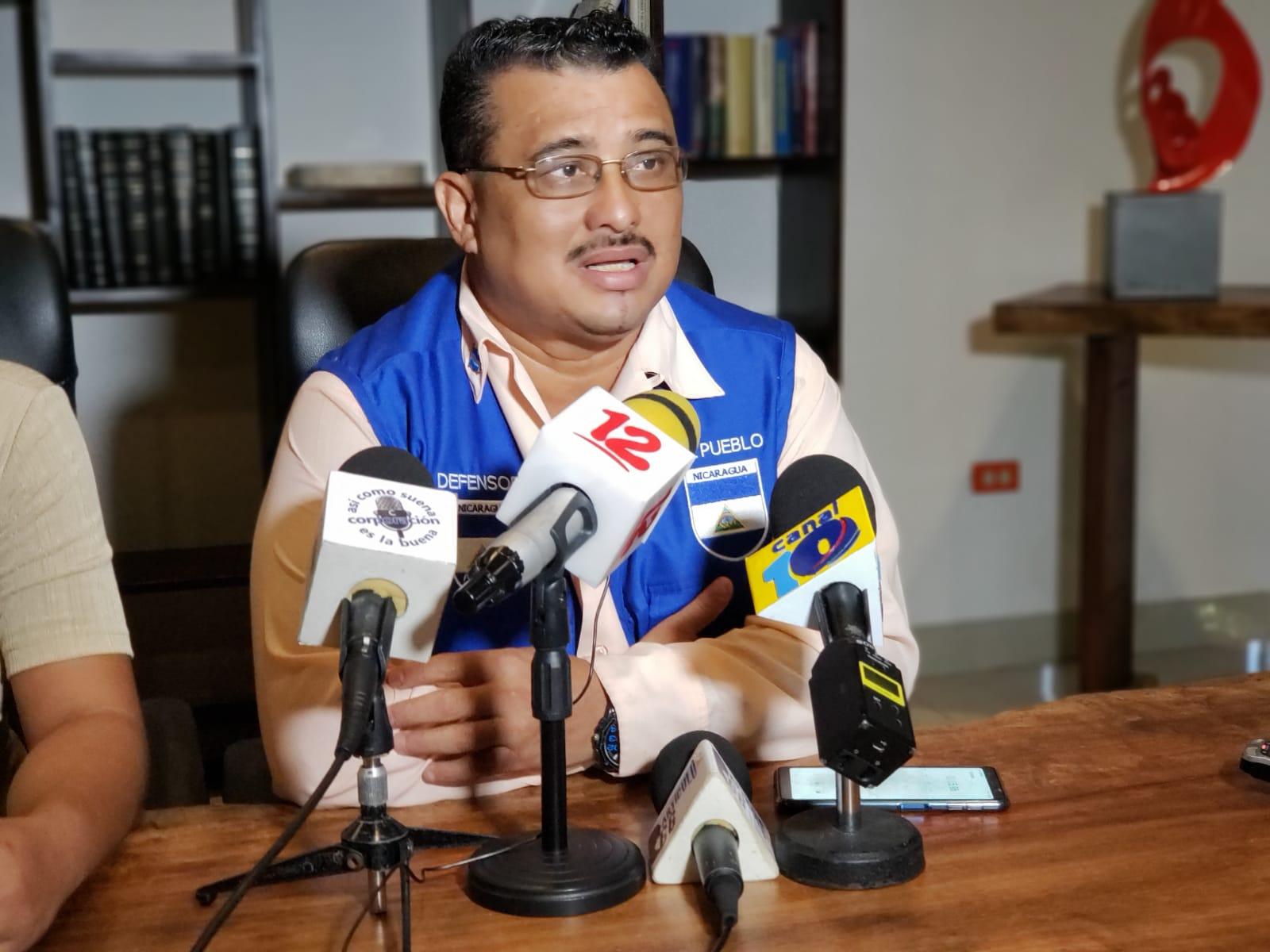 Julio López, abogado de Defensores del Pueblo asegura que al menos 4 casos de detenciones ilegales se han registrado en Masaya, desde el sábado 30 de noviembre. Foto: G. Shiffman / Artículo 66