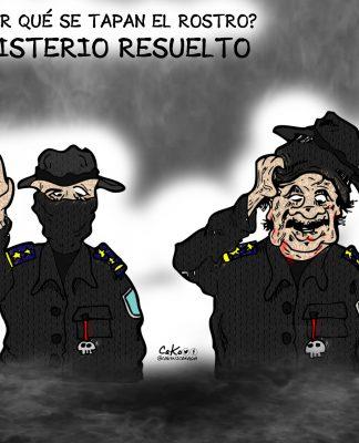 La Caricatura: ¿Por qué se tapan el rostro?