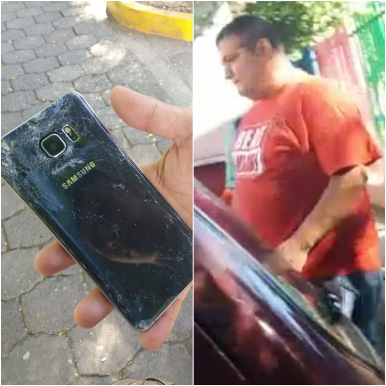 Policía vestido de civil arrebata y quiebra el teléfono al camarógrafo y periodista, Bryan Zeledón de NotimaTV