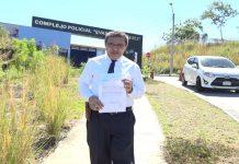 """Niegan al abogado Julio Montenegro reunirse con los """"Aguadores"""", en el Chipote. Foto: Cortesía/Wilmer Benavides"""