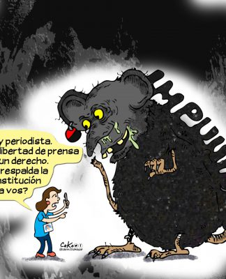 La Caricatura: Libertad de prensa vs Impunidad
