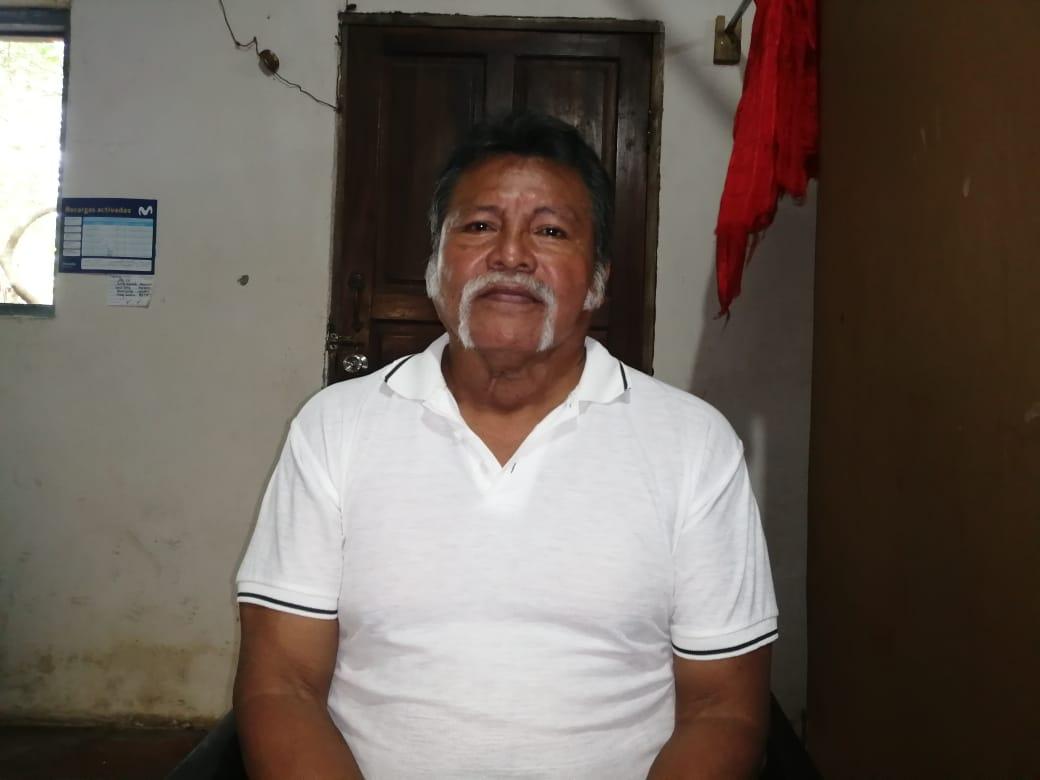 Miguel Ángel Cárdenas, secuestrado por la Policía en la ciudad de Masaya. Foto: Noel Miranda/Artículo 66