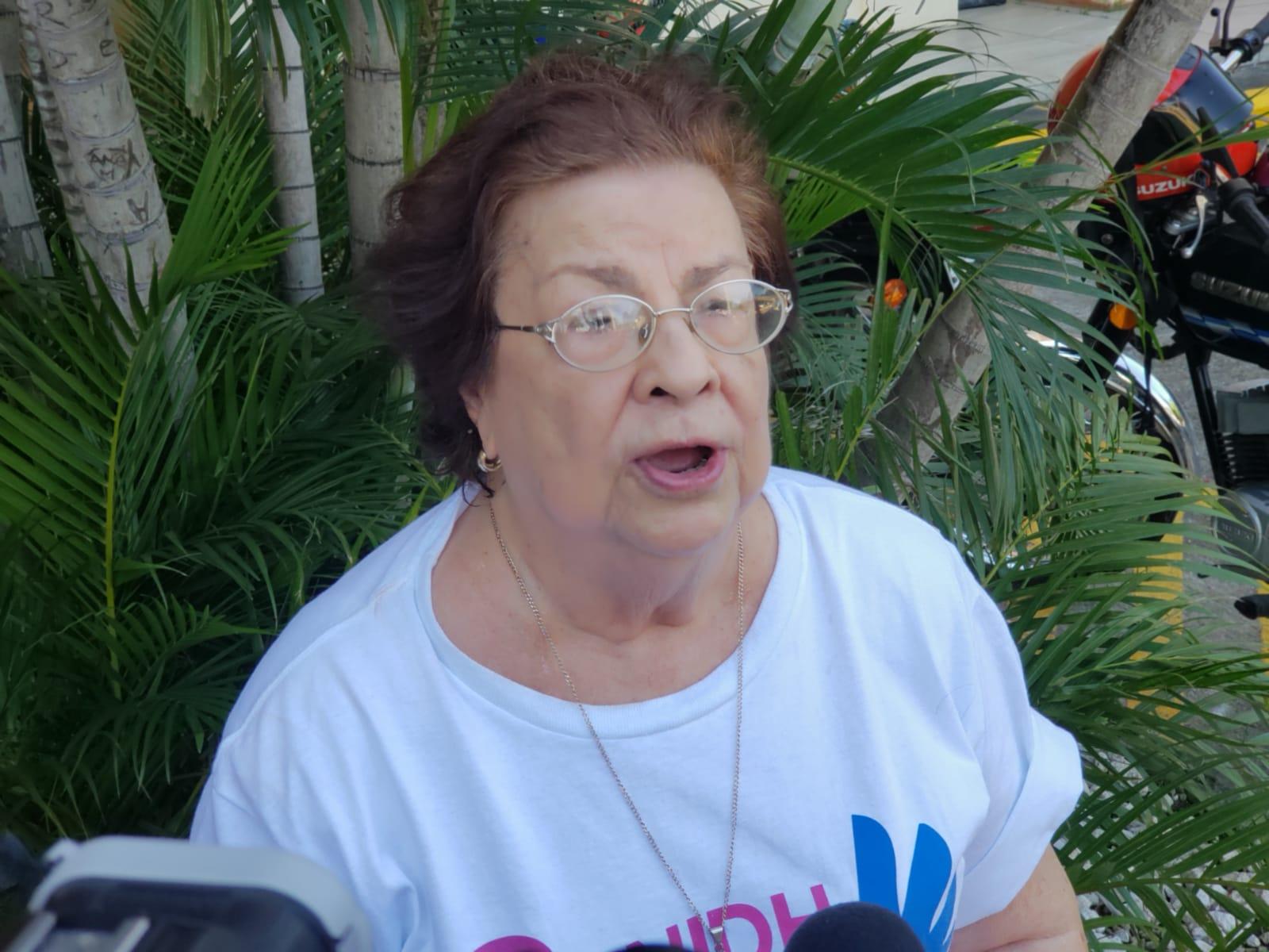 Vilma Núñez de Escorcia, presidenta del Cenidh. Foto: Geovanny Shiffman/Artículo 66