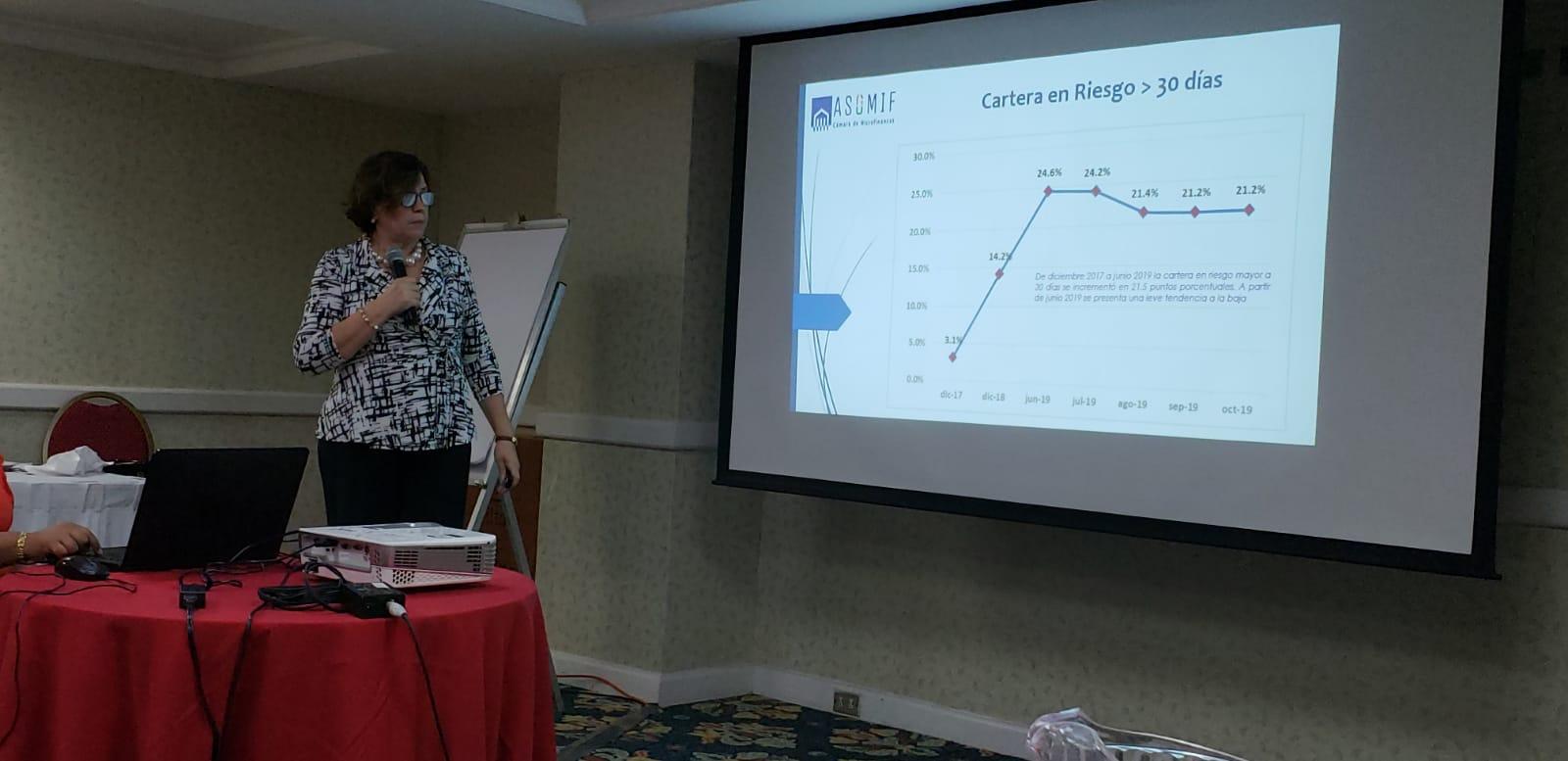 Sharon Riguero, directora ejecutiva de Asomif. Foto: Geovanny Shiffman/Artículo 66