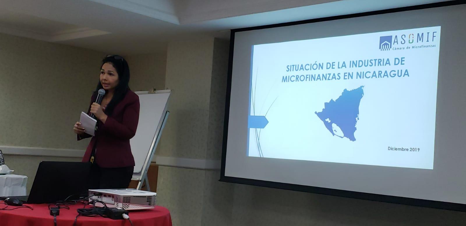 Verónica Herrera, presidenta de la Cámara de Microfinanzas Asomif. Foto: Geovanny Shiffman/Artículo 66