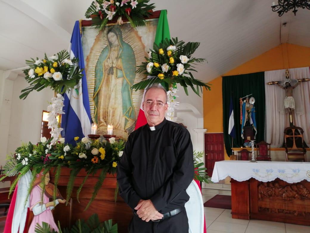 """Padre Edwing Román: """"Daniel Ortega y Rosario Murillo son dignos de lástima"""". Foto: Noel Pérez/Artículo 66"""