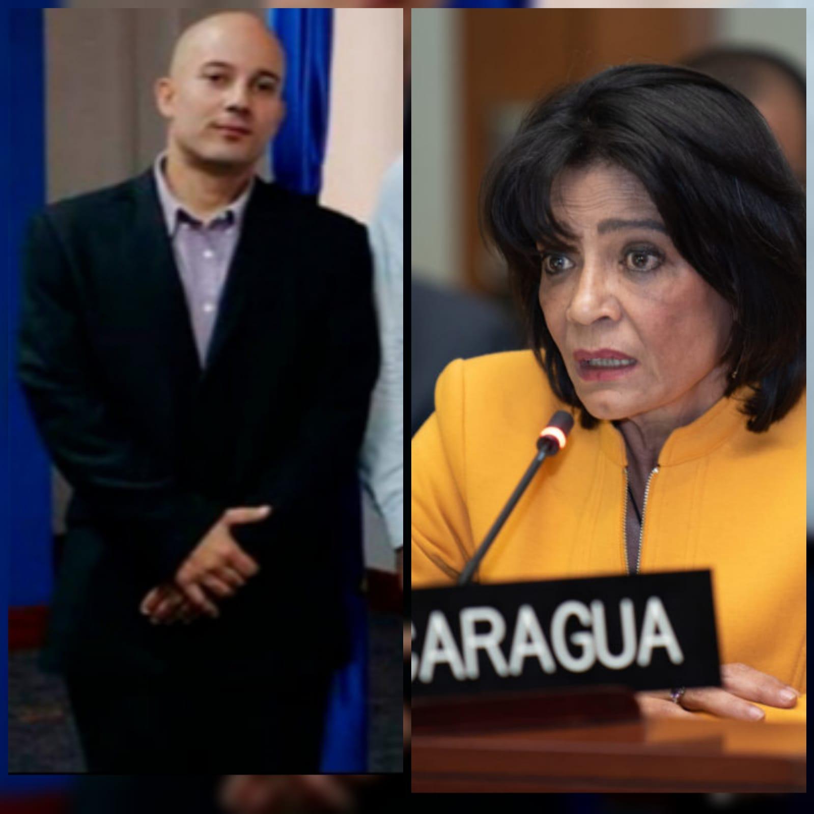 El nepotismo de la embajadora Ruth Tapia en la Cancillería de Nicaragua. Foto: Cortesía