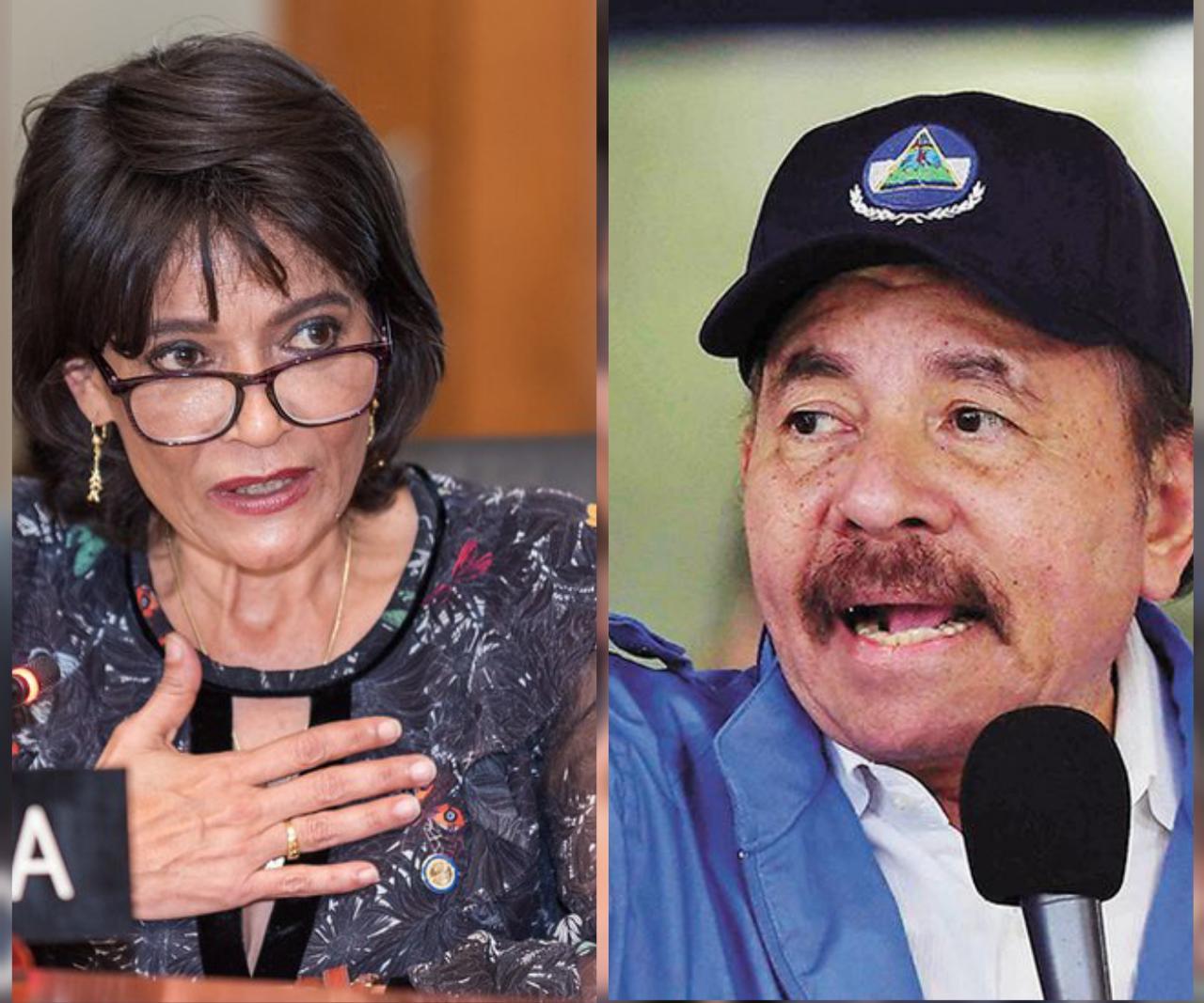 Dictadura premiará con otro cargo a su exrepresentante de la OEA, Ruth Tapia. Foto: Edición/Artículo 66