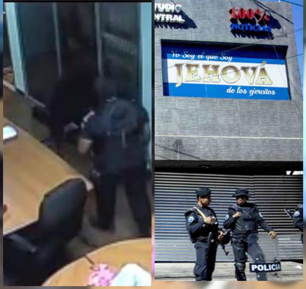 «Última hora antimotines quieren ingresar a 100% Noticias». Se cumple un año de la confiscación y asalto contra «el canal del pueblo»