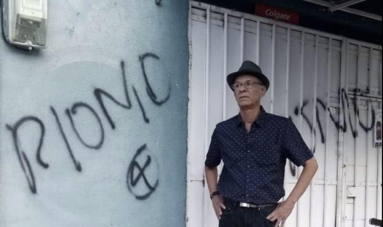 El mayor en retiro del ejército popular sandinista Luis Adolfo Torres Romero. Foto: Artículo 66 / Cortesía