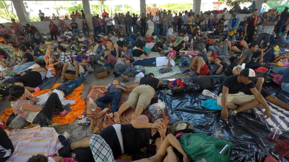 Carlos Alvarado urge cooperación internacional para atender solicitudes de refugios de nicaragüenses. Foto: Cortesía/AFP