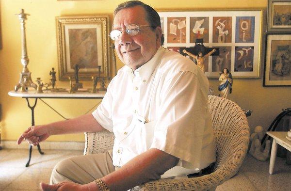 Francisco de Asís Fernández, presidente del Festival Internacional de Poesía. Foto: Cortesía / Artículo 66