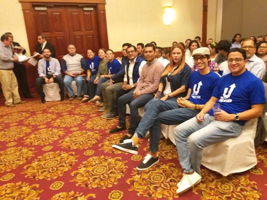 Unidad Nacional Azul y Blanco elige a su nuevo Consejo Político